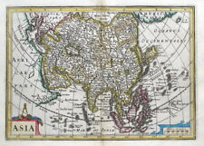 ASIA, Cluver, Jansson, original antique map 1661