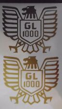 2 x Honda Goldwing 1000 decals/stickers
