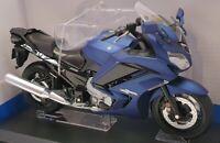 Aoshima 1/12 Scale Model Motorcycle 1067922800 - Yamaha FJR 1300A - Blue