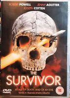 The Survivor Robert Powell Jenny Agutter David Hemmings Prism Région 2 DVD L New