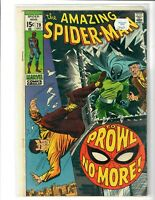 the Amazing Spider-Man Comic Book #79, Marvel Comics 1969 FINE+ FREE SHIPPING!