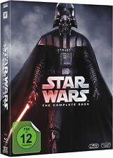 STAR WARS: THE COMPLETE SAGA (9 Blu-ray Discs) NEU+OVP