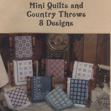 Counted Cross Stitch Cupboard Booklet - Mini Quilts and Country Throws 8 designs