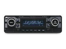 Autoradio Vintage Look Retro Black Lecture CD/USB/SD Avec Tuner FM