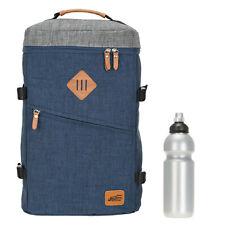 Rucksack New Rebels Reise Sport Daypack für Notebook Bag Karl Q 51119719 Blau +f