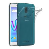 Coque Etui Silicone Gel UltraSlim Transparent Clair pour Model WIKO