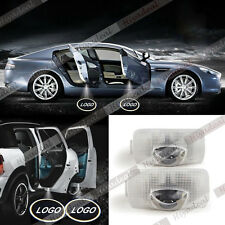 2x LED Car door Welcome laser projector Logo Ghost Shadow Light For TOYOTA Prado