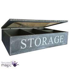 Soluciones de almacenamiento Gisela Graham de madera para el hogar