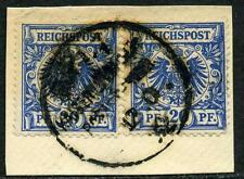 Samoa V 48 b (2)  Kab.-Briefstück  Apia  1892