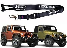 Jeep Grill Since 1941 Lanyard Keychain Holder Wrangler Cherokee New Free Ship