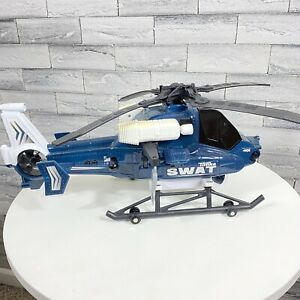 """Tonka Toy Swat Helicopter 2011 hasbro Lights And Sounds Working Propeller 18"""""""