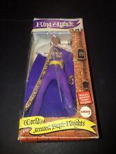 "1974 Mego World's Greatest Super Knight's 8"" King Arthur 100% Original"