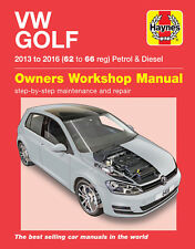 H6416 VW Golf Petrol & Diesel (2013 - 2016) 62 to 66 Haynes Repair Manual