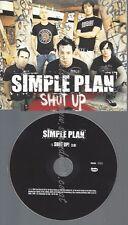 PROMO CD--SIMPLE PLAN --SHUT UP -- 1TR