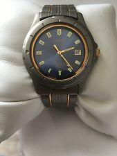 Citizen Mens Titanium Quartz Slim Vintage Date100MT Blue Dial 2510-H21670 Watch