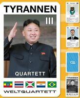 Tyrannen III Quartett Teil 3 Diktator Quartett Kartenspiel