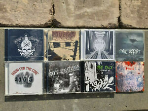 CD-Paket, 8 Stück CD, Hardcore, HC, Old School Hardcore, New York Style