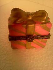 Mini Porcelain Hinged Gift Trinket/Ring Box