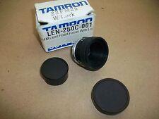 Tamron CC 25mm Camera Lens  23FM25 w/ Lock  NEW IN BOX
