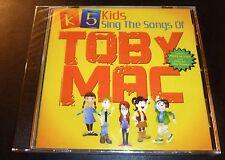 """New! K5 KIDS """"Sings The Songs Of Toby Mac"""" (CD 2011) 18-Tracks ***SEALED***"""