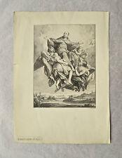 Lithographie, Saint Bernardin de Sienne, F-L. Gounod