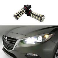 2 White P13W DRL LED Bulbs For Mazda CX-5 Daytime Running Lights