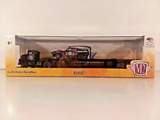 "M2 AUTO HAULERS "" A. GOODMAN RACING "" 1956 Ford Coe Tractor with Trailer NIB"