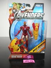 NEW! MARVEL AVENGERS SHATTERBLASTER IRON MAN ACTION FIGURE #18 2012 NIP!! A8-26