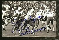 JERRY TAGGE NCAA Nebraska Cornhuskers Football Autographed Signed 4x6 Photo 3
