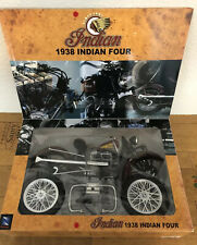 Newray- Die Cast Models - 1938 Indian Four Motorcycle 1:6 scale die cast RARE