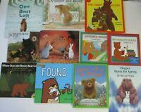 Bears Picture Book lot Preschool Daycare Children's Book lot