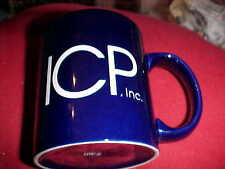 ICP, INSTITUTIONAL CARE PHARMACY COFFEE CUP  NAVY BLUE NEVER USED   624