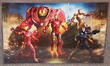 Avengers Iron Man Suits Glossy Art Print 11 x 17 In Hard Plastic Sleeve