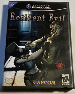 RESIDENT EVIL (Nintendo GameCube) Case , Manual