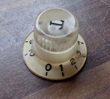 More details for vintage tone knob - japanese - teisco, kent etc - rare 1960s