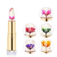 Jelly Flower Lipstick Color Changing Long Lasting Moisturizing Lip Gloss Beauty