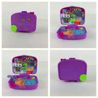 Vintage 1996 Bluebird Polly Pocket Holiday Fun Suitcase compact only