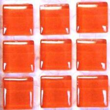81 murrini verre cristal tuiles de Mosaïque - Satsuma Orange