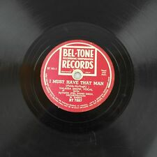 "1940's - Valaida Snow ""I Must Have That Man"", ""Solitude"" Jazz 78 rpm Bel-Tone"