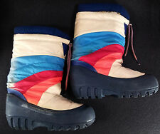Vintage 70s/80s Moon Boots - Boys 5-6/Womens 7-8 - Good Condition - Ships Fast!