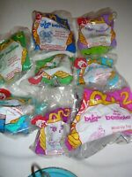 A Bug's Life McDonald's Happy Meal Toys Complete Set of 8