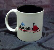 Reproduction Vintage Alouette Sled Snowmobile Logo Coffee Mug