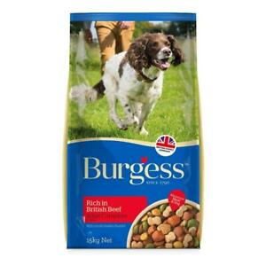 Burgess Supadog Beef Complete 15kg Adult Dog Food with FREE NEXT DAY DELIVERY