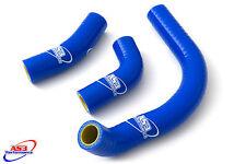 SUZUKI RM 125 1986-1990 HIGH PERFORMANCE SILICONE RADIATOR HOSES BLUE