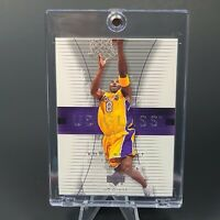 Kobe Bryant EXCLUSIVE INSERT UD GLASS LAKERS CARD - INVESTMENT - UV CASE