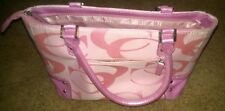 Purse Tote Handbag Pink