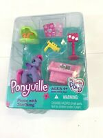 VINTAGE 2007 Hasbro My Little Pony Ponyville Music w/ Starsong RARE Hard to Find