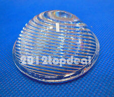 51mm Striped Convex Glass Led Lens Reflector Collimator for Led Flashlight DIY