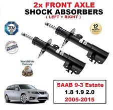 2 x ESSIEU AVANT Amortisseurs pour SAAB 9-3 Estate 1.8 1.9 2.0 2005-2015 (paire)