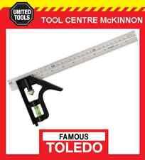 Toledo CS30012 Combination Square Metric & English 300mm -adjustable